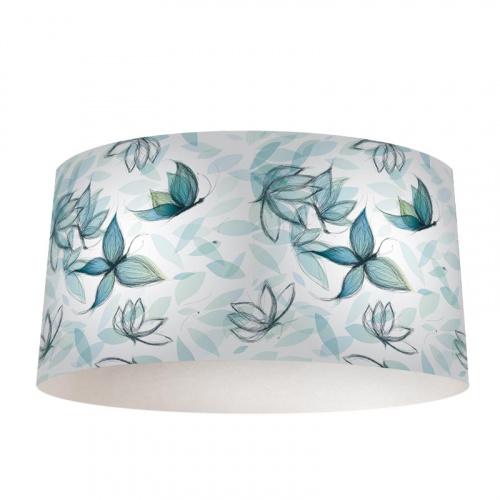 Lampenkap Vlinders en bloemen patroon