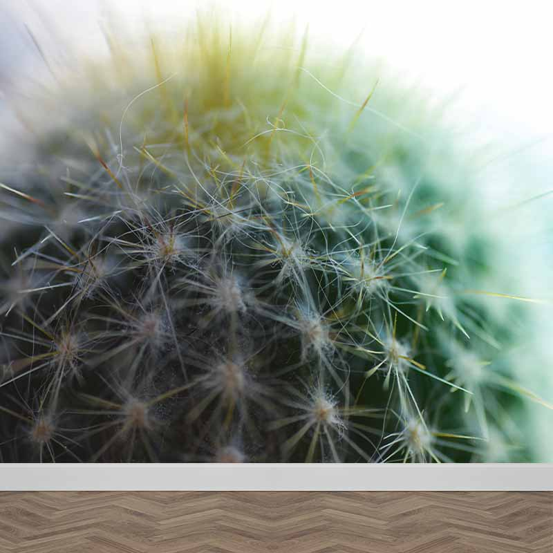 Fotobehang Cactus close-up