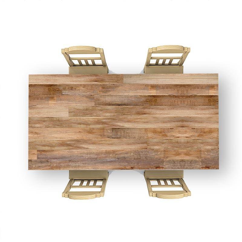 Adesivo da tavolo Travi di legno 14