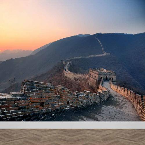 Fotobehang Chinese muur