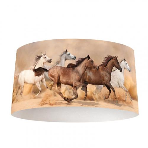 Lampenkap Wilde paarden