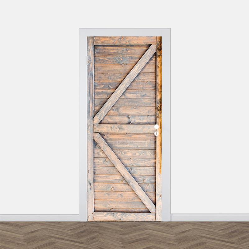 Deursticker oude staldeur 3