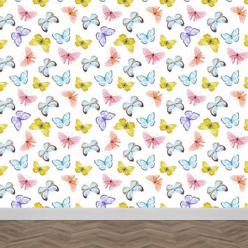 Fotobehang Vlinders patroon