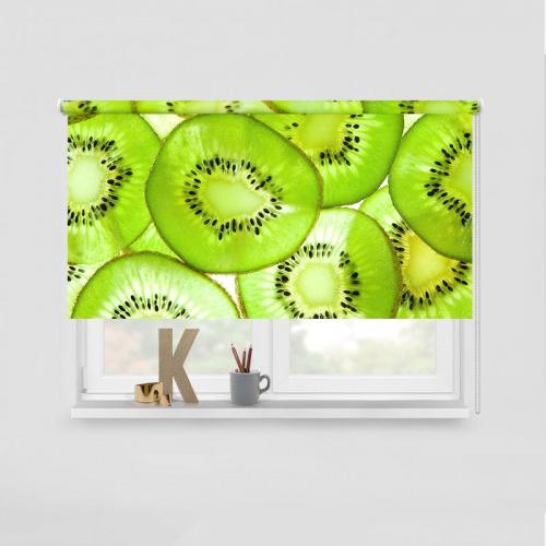 Tenda a rullo Fette di kiwi