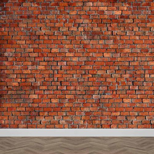 Fotobehang Bakstenen muur 1