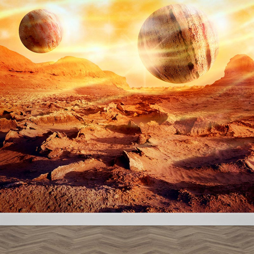Fotobehang Planeten