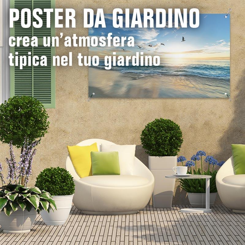 Poster da giardino
