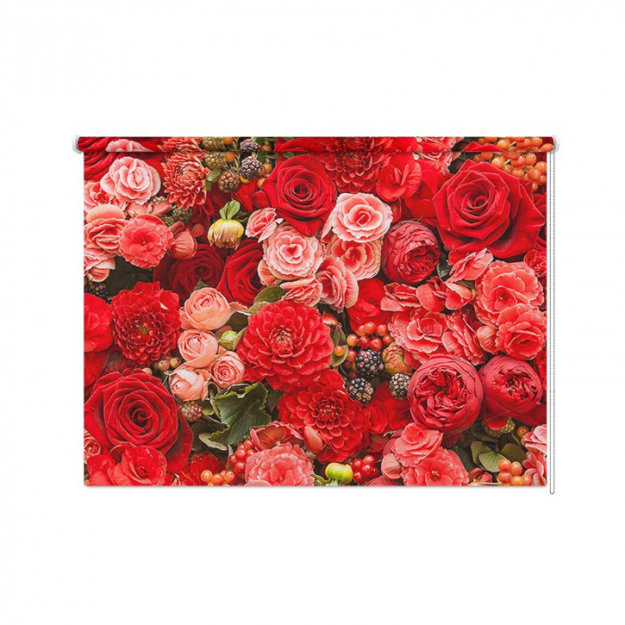 Tenda a rullo Tripudio di fiori