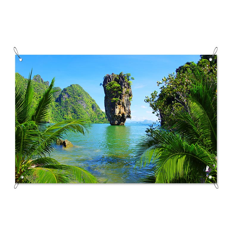 Poster da giardino James Bond Island