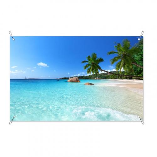 Poster da giardino Sognando sulla spiaggia