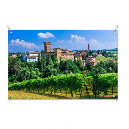 Poster da giardino Paese italiano