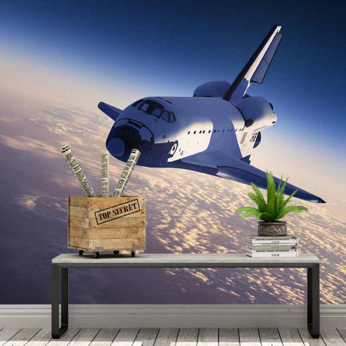 Carta da parati Space shuttle