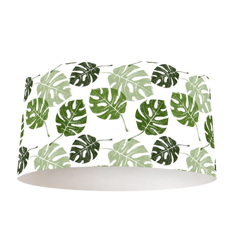 Paralume Motivo foglie tropicali 1