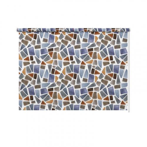 Tenda a rullo Acquerello mosaico