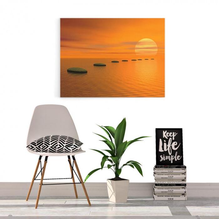 Canvas Zen uitzicht