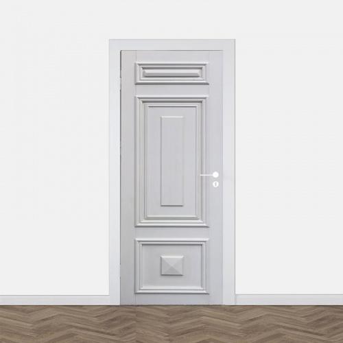 Adesivo per porta Stile classico