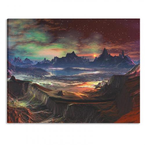 Canvas Mysterieus fantasie
