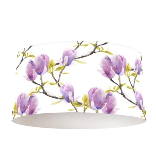 paralume boccioli di magnolia lilla