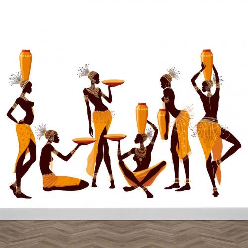 Carta da parati Donne Africane