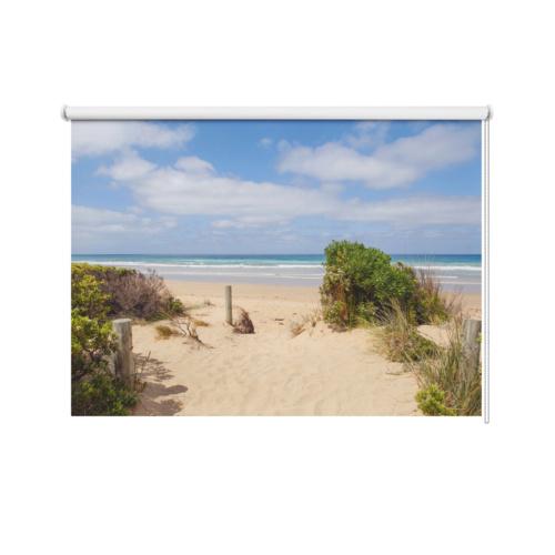 Tenda a rullo Giornata in spiaggia